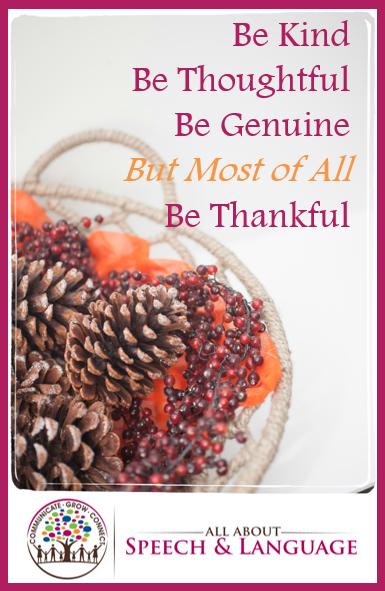 gratitude speech